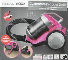 Cleanmaxx Zyklon-Staubsauger 700W in Silber/Pink