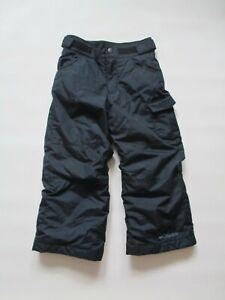 Kids Boys COLUMBIA Outgrown Black Winter Ski Snow Pants XXS (4-5 Yrs.)