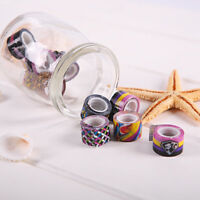 10 Roll DIY Paper Sticky Adhesive Sticker Decorative Washi Tape Craft Stationery