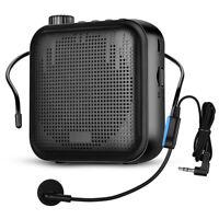 Portable 12W Voice Amplifier Microphone Megaphone 2000mAh Battery for Classroom