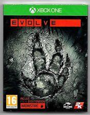 EVOLVE / Jeu XBOX ONE / NEUF SOUS CELLO