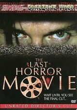 The Last Horror Movie (DVD, 2004, Unrated Version)