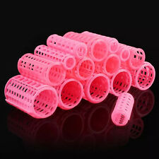15pcs Plastic Hair Roller Curler Hairdressing Grip Styling Tools Home DIY Beauty