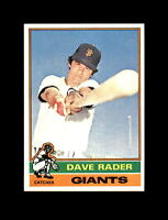 1976 Topps Baseball #54 Dave Rader (Giants) NM-MT