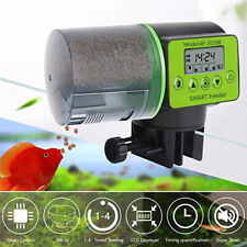 Automatic Fish Food Feeder Auto LCD Dispenser Feeding Timer Aquarium Tank P HOT