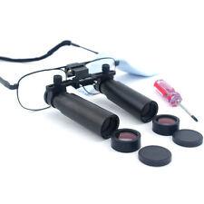 8.0X 420mm Dental Binocular Loupes Medical Loupes Dentist Magnifier Metal Frame