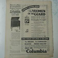 vintage advertise COLUMBIA Radio-Graphophone 1930s