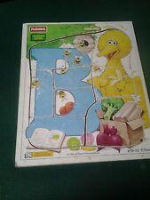 Playskool Sesame Street 9 Pc Wooden Children's Puzzle
