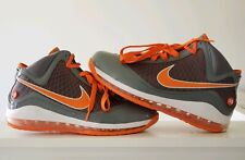promo code 4784a 5ff62 Nike Air Max Lebron VII TB Grey Orange White Sz. 11.5