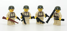 World War 2 American Solders Squad Minifigures made with real LEGO(R) minifig