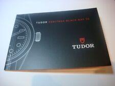 TUDOR HERITAGE BLACK BAY 36 Watch Book Catalogue 2016