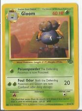 Pokemon Unlimited Edition Jungle set Gloom 37/64 uncommon NM Condition