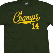 Champs 14 Script Tail T-Shirt - 2014 Sports Champions Award - All Sizes & Colors