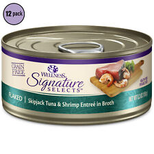 Wellness Pet Products Cat - Tuna & Shrimp - Signature Selects - 2.8 Oz (12 pack)