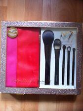 No7 Brush Set Gift Set With Cosmetic Make Up Brush Case Brand New
