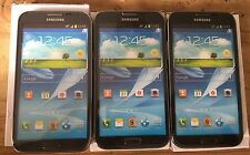 (3) Samsung Galaxy NOTE II AT&T Black Mock Up Display Phone NON FUNCTIONING