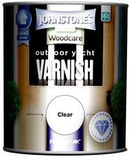 Johnstones Woodcare External Yacht Varnish Gloss 750ml Clear