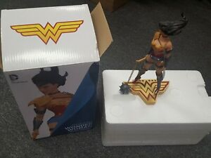 DC The Art of War Wonder Woman Statue by Tony Daniel DC Collectibles Discounted