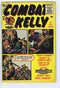 Combat Kelly #38 Atlas 1956