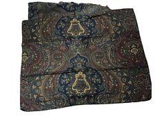 Ralph Lauren Dark Green/Dark Blue Paisley 2 Standard PillowShams