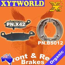 FRONT REAR Brake Pads Shoes SUZUKI RV 125 Van-Van 2002-2011 2012 2013 2014 2015
