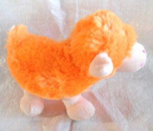 Sheep, lamb ( orange ) - ELKA Aust - 17cm