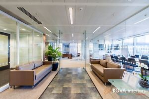 Office Glass partition in London by KOVA Partitions
