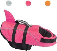 Avanigo Xl Shark Dog Life Jacket Dog Life Swimming Vest, Xl-Rose