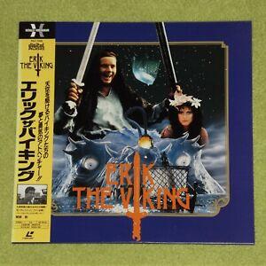 ERIK THE VIKING [1989/Terry Jones] - RARE 1990 JAPAN LASERDISC + OBI (PILF-7046)