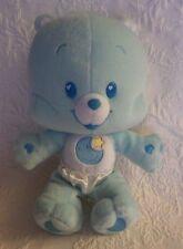"Care Bear Cub Blue Bedtime Bears Plush Stuffed Animal 10"" Tall"