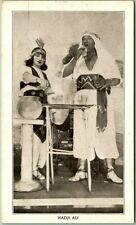 "1934 Chicago WF Expo Postcard Ripley's Believe it Or Not ODDITORIUM ""HADJI ALI"""