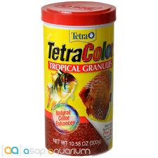 Tetra Color Tropical Granules 10.58oz (300g) Fish Food Color Enhancing Discus