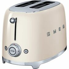 Smeg TSF01CRUK Retro Cream 2 Slice Toaster