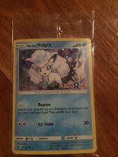 SEALED Pokemon ALOLAN VULPIX Card TOYS R US Promo SM GUARDIANS RISING Set 21/145