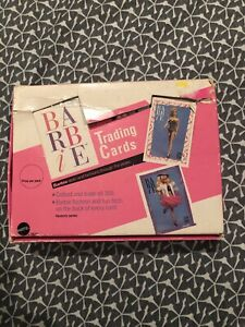 1990 Mattel Barbie Lg Trading Cards 24 Pack 10 Cards Per Pack New In Box
