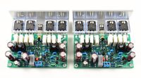 L20 amplifier DIY KIT power supply protect board heatsink by LJM