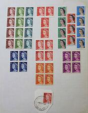 Stamp Australian Decimal 1966 QEII Heads Mint 1c-7c + 5c O/Stamp & Coil 57