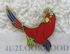PARROT RIO Red RAINFOREST CAFE Pin  Tail moves