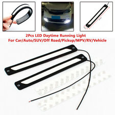 2PCS Auto Car DRL LED Daytime Running Driving Bulbs Daylight Fog Light Universal
