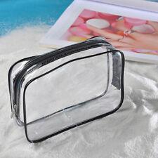 portatif TRANSPARENT VOYAGE Trousse Maquillage Cosmétique Transparent PVC