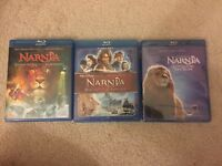 The Chronicles of Narnia Blu-ray Trilogy 3 Movies Collection