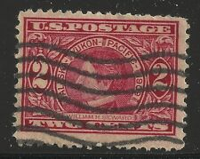 US Scott #370, Single 1909 William Seward 2c VF Used