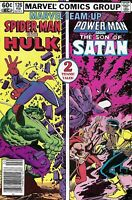 Marvel Team-Up Comic Issue 126 Spider-Man And The Hulk Bronze Age 1983 Matteis