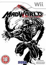 Mad World Nintendo Wii MADWORLD UK SELLER GAME BRAND NEW AND SEALED FREE P&P