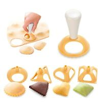 4Pcs Plastic Dough Press Dumpling Pie Mould Maker Cooking Pastry Kitchen Tool