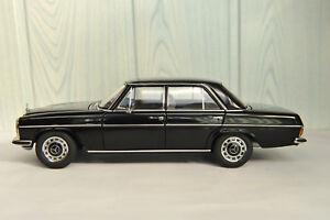Mercedes-Benz-8-220D 76181-Limousine-Noire-Rare 1-18-Autoart Millénium rarissime