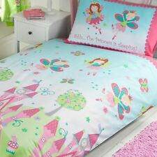 Princess Is Sleeping Junior Duvet Cover Set 66in X 72in Matching Curtains