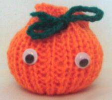 Hand Knitted Novelty Halloween Trick or Treat Gift Bag