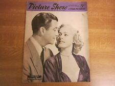 March 1953, PICTURE SHOW, Robert Taylor, Richard Denning, Dawn Addams.