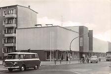 Demmin Clara Zetkin Strasse Auto, Omnibus, Fahrrad Postkarte
